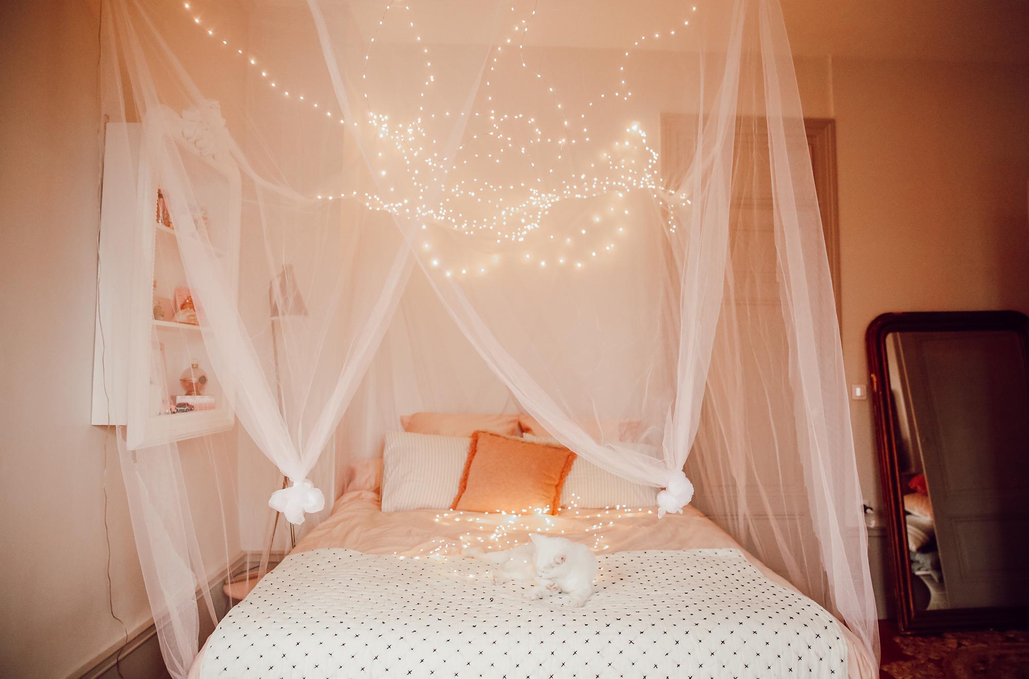 Fabriquer Ciel De Lit mon ciel de lit étoilé | elles en parlent